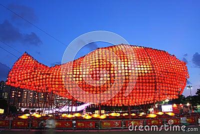 Hong Kong : Mid-Autumn Festival 2011 Editorial Image