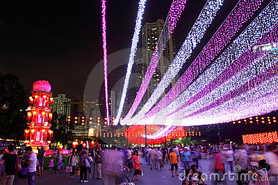 Hong Kong : Mid-Autumn Festival 2011 Editorial Photography