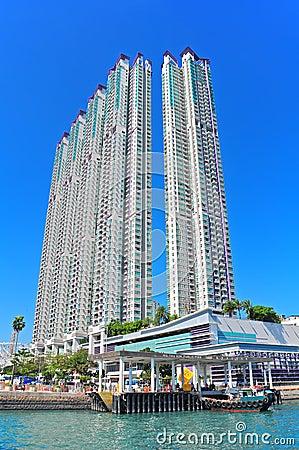 hong kong modern buildings Editorial Photography