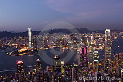 Hong Kong Night Scenes