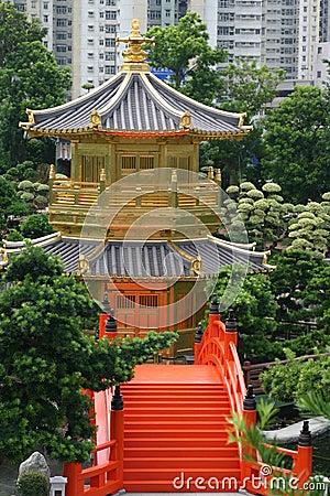 Hong Kong pagoda