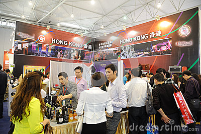 Hong kong pavilion Editorial Photo