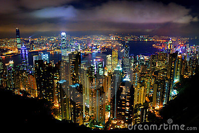 Hong Kong Peak Tram Stock Photos - Image: 9767483