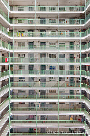 Free Hong Kong Residential Old Architecture Estate, China Stock Photography - 96726472
