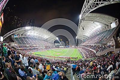 Hong Kong Rugby Sevens 2012 Editorial Stock Image