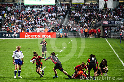 Hong Kong Rugby Sevens 2012 Editorial Photography
