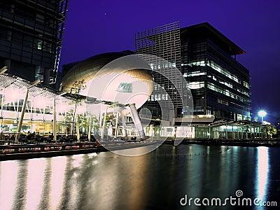 Hong Kong Science Park at Night