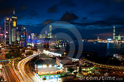Hong Kong Skyline. Editorial Image