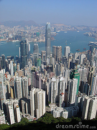 Free Hong Kong Skyline Royalty Free Stock Images - 1945169