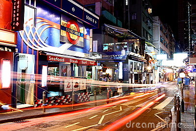 Hong Kong SOHO Editorial Image