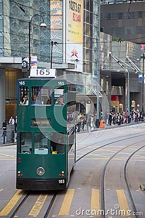 Free Hong Kong Tram Royalty Free Stock Photography - 100506217