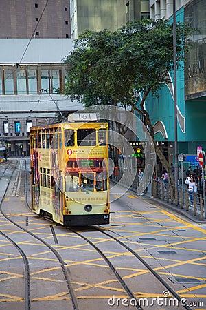 Free Hong Kong Tram Stock Photography - 95765272