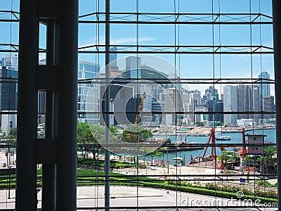 Hong Kong view Editorial Image