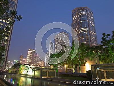 Hong Kong view Editorial Stock Image