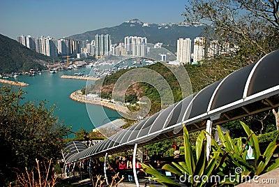 Hong Kong: View of Aberdeen Harbour Editorial Photo