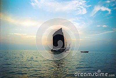 Hongze Lake Yacht ancient China