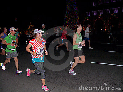 Honolulu Marathon 2 Editorial Photo