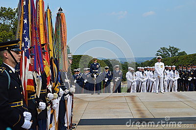 Honor Guard Editorial Image