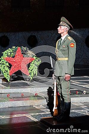 Honor guard Editorial Stock Photo