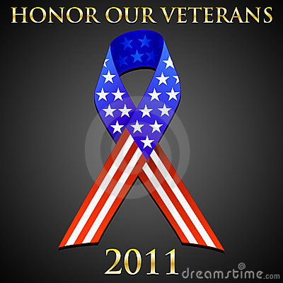 Free Honor Our Veterans Stock Image - 19257911