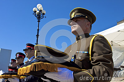 Honour to the officers died Editorial Photo