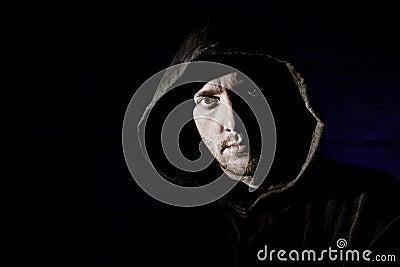 Hooded Male