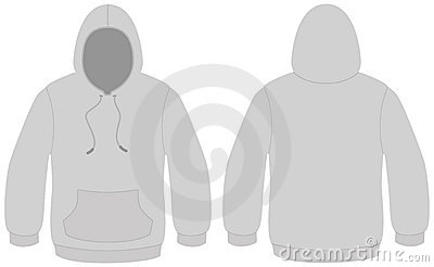 Hooded Sweater Template Vector Illustration Royalty Free Stock Images - Image: 11935559