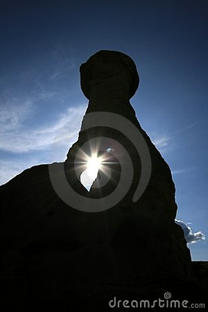 Hoodoo Shadow and Sun