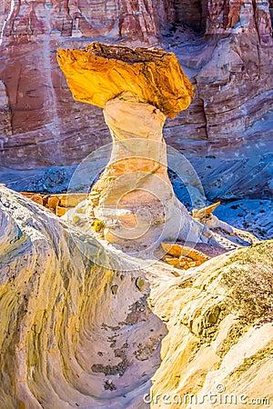 Free Hoodoos At Stud Horse Point In Arizona Royalty Free Stock Photo - 53367305