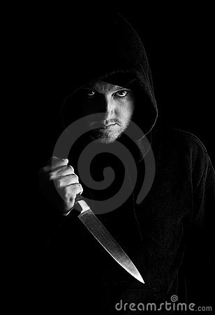 Hoody with Knife
