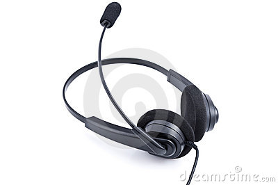 Hoofdtelefoons met microfoon