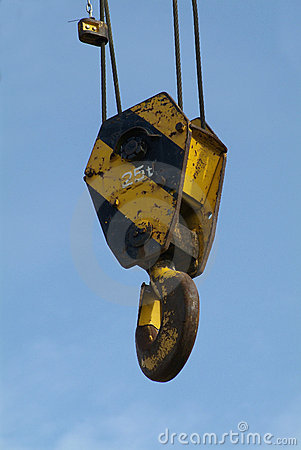 Free Hook Of Mobile Crane Stock Photography - 685432