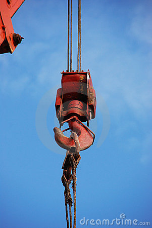 Free Hook Of The Crane Royalty Free Stock Image - 14316786