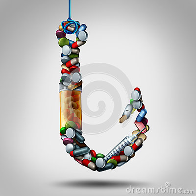 Free Hooked On Medicine Stock Images - 91189804
