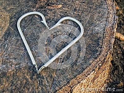 Hooks heart