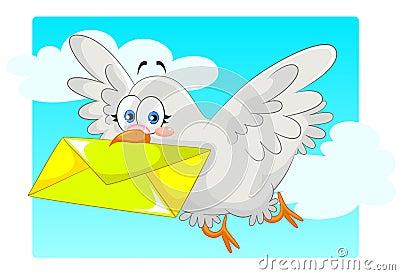 Hooming pigeon