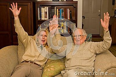 Hooray hands up
