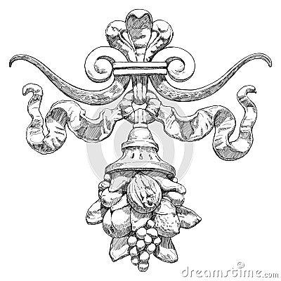 Hoorn des overvloeds - een symbool van overvloed en rijkdom