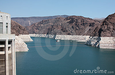 Hoover Dam and Lake Mead Power Station USA