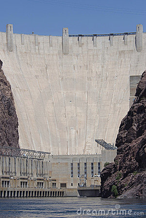 Hoover Dam from the River