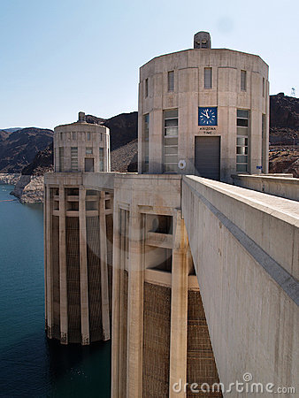 Hoover dam turrets