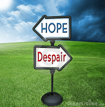 Free Hope And Despair Royalty Free Stock Image - 5777526