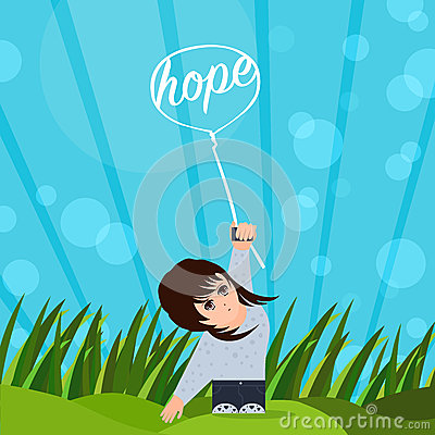 Free Hope Beams Me Up Stock Image - 51323261