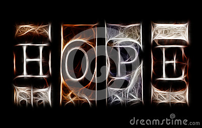 Hope concept