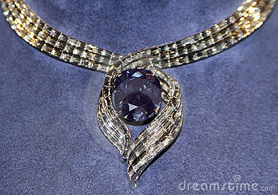 The Hope Diamond Editorial Image