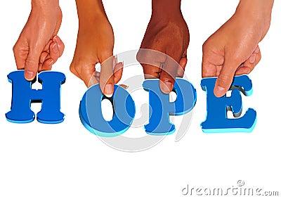 Hope holding