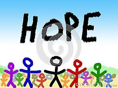 Child s Illustration of Hope