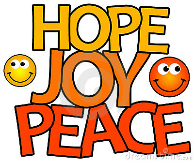 Hope joy peace