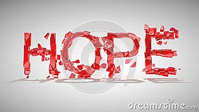 Hope is lost. Word destruction