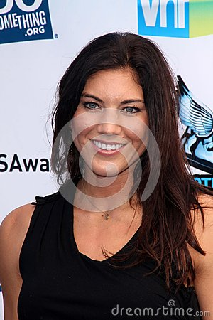 Hope Solo Editorial Stock Image